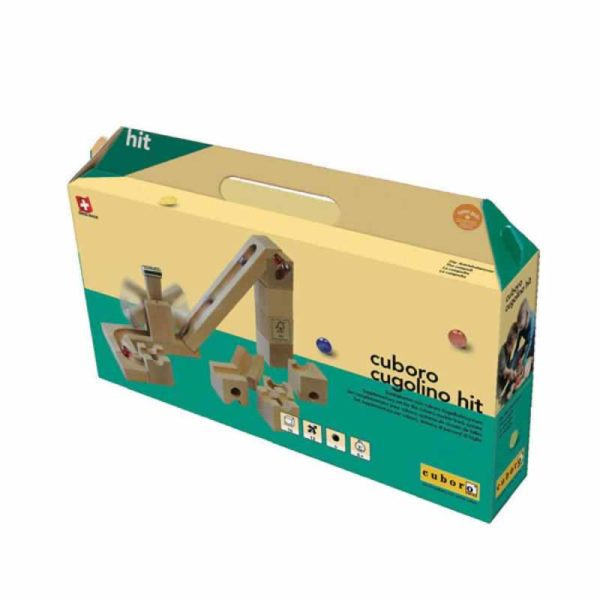 cuboro - extensie cuboro cugolino hit - circuit bile swiss made - in Romania prin Didactopia by Evertoys