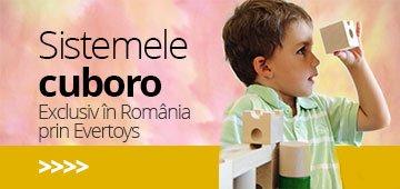 Sistemele cuboro - exclusiv in România prin Evertoys