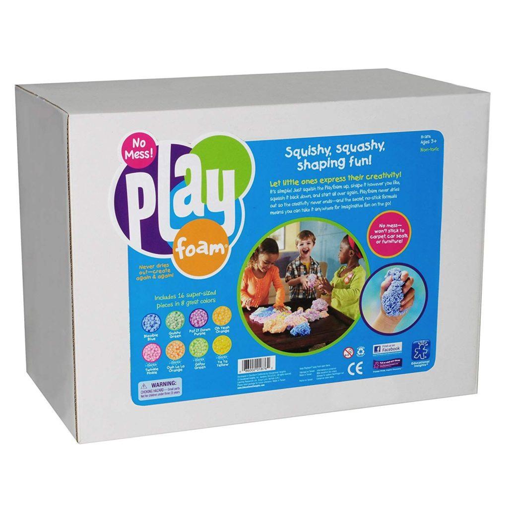 Spuma modelare - set clasa - 16 bucati mari - Educational Insights UK