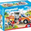 AMBULANTA CU LUMINI SI SUNETE-Playmobil-City Life Kids Clinic-PM6685
