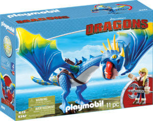 ASTRID SI STORMFLY-Playmobil-Dragons-PM9247