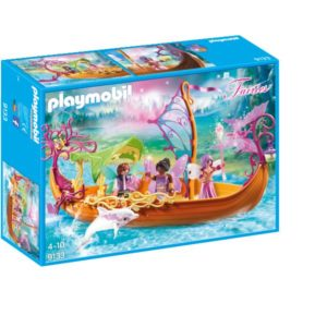 Barca magica cu zane-Playmobil-Fairies-PM9133