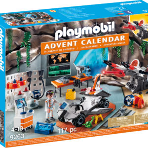 CALENDAR CRACIUN - AGENT SECRET-Playmobil-Christmas-PM9263