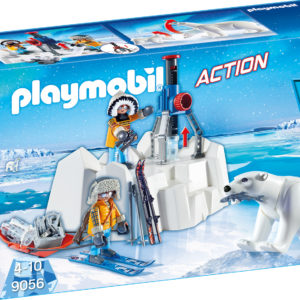CERCETATORI SI URSI POLARI-Playmobil-Action-PM9056
