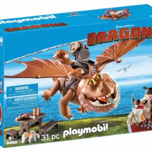 DRAGONS - FISHLEGS SI MEATLUG-Playmobil-Dragons II-PM9460