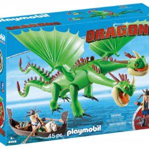 DRAGONS - GEMENI CU BARF SI BELCH-Playmobil-Dragons II-PM9458