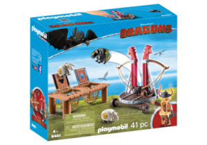 Dragons - Gobber Si Lansatorul De Oi-Playmobil-Dragons II-PM9461