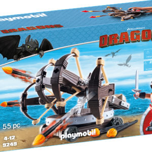 ERET SI BALISTA-Playmobil-Dragons-PM9249