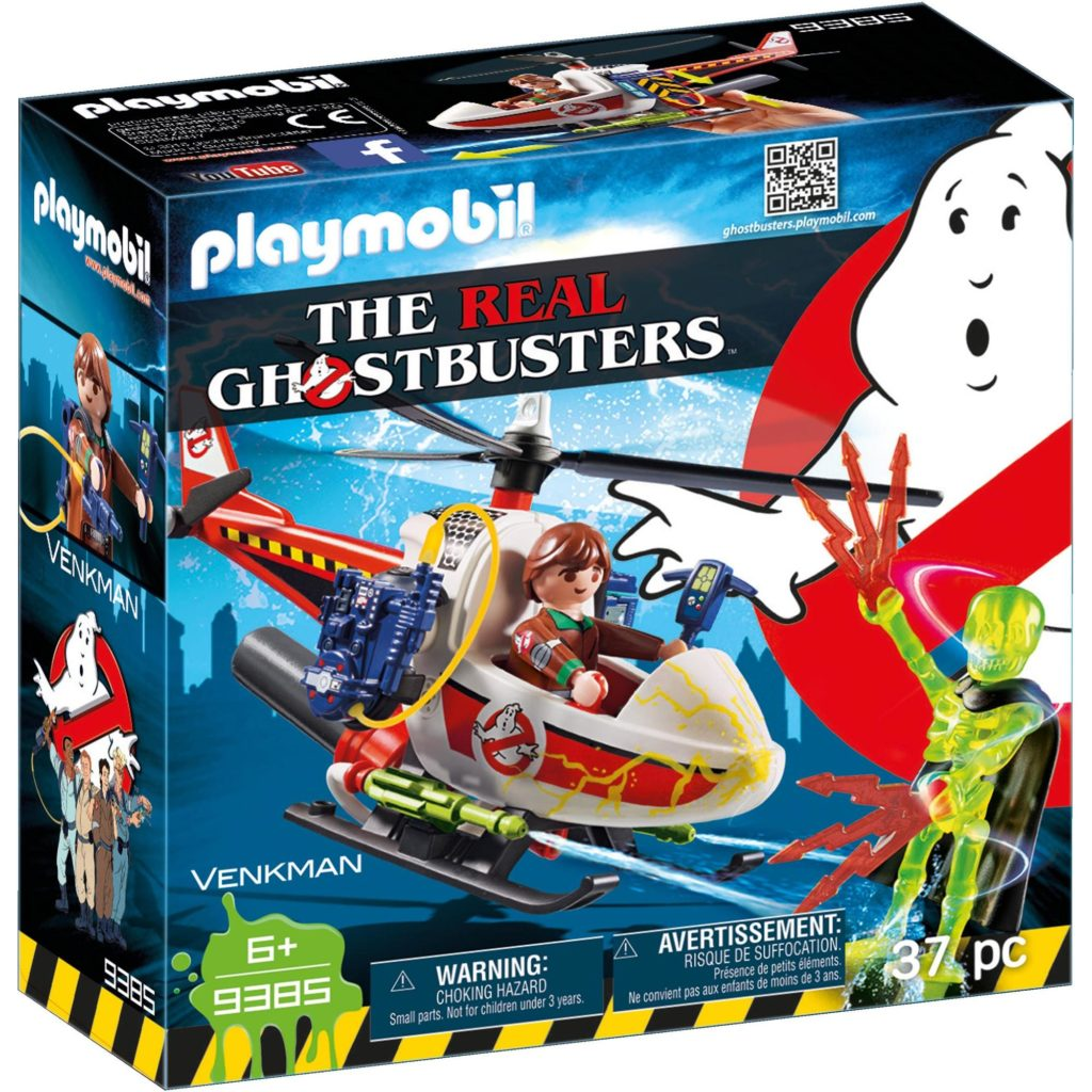 GHOSTBUSTER - VENKMAN SI ELICOPTER-Playmobil-Ghostbusters-PM9385