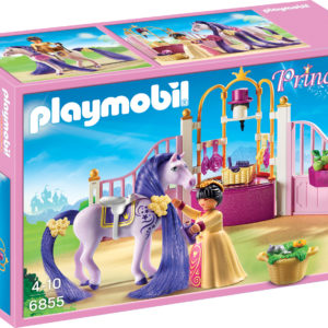 GRAJDUL CASTELULUI-Playmobil-Princess Castle-PM6855