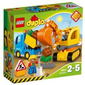 LEGO-10812-Camion si excavator pe senile LEGO DUPLO  (10812)-LEGO DUPLO