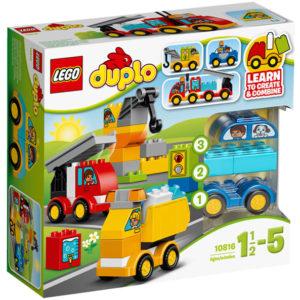 LEGO-10816-Primele mele masini si camioane  (10816)-LEGO DUPLO