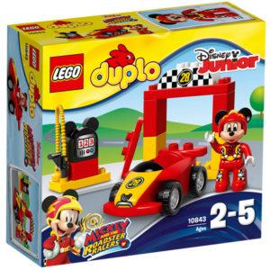 LEGO-10843-Masina de curse a lui Mickey  (10843)-LEGO DUPLO