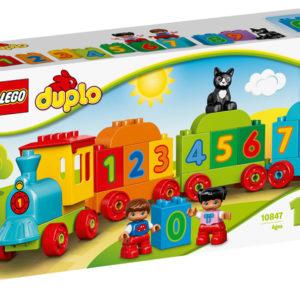 LEGO-10847-Trenul cu numere LEGO DUPLO (10847)-LEGO DUPLO