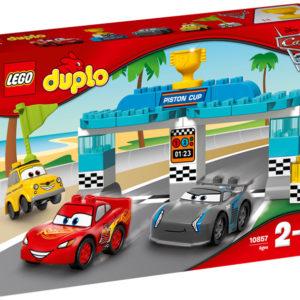 LEGO-10857-Cursa pentru Cupa Piston  (10857)-LEGO DUPLO