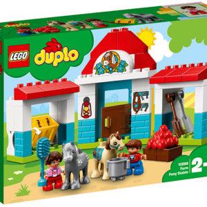 LEGO-10868-Grajdul poneilor (10868)-LEGO DUPLO