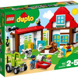 LEGO-10869-Aventuri la ferma (10869)-LEGO DUPLO