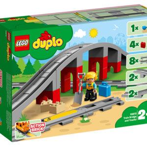 LEGO-10872-Pod si sine de cale ferata (10872)-LEGO DUPLO
