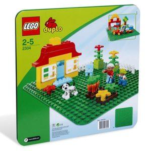 LEGO-2304-Placa verde LEGO DUPLO  (2304)-LEGO DUPLO