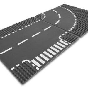 LEGO-7281-Curba si intersectie (7281)-LEGO Classic