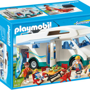 MASINA DE CAMPING-Playmobil-Summer Fun - Water Park-PM6671