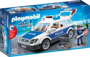 Masina de Politie cu Lumina si Sunete-Playmobil-Police-PM6920