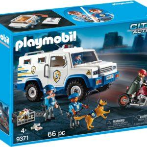 Masina de politie blindata-Playmobil-City Action-PM9371