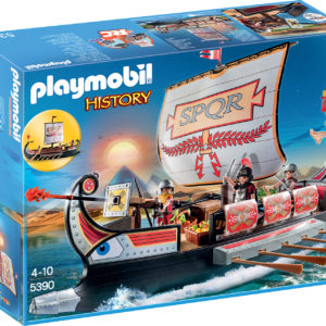 NAVA RAZBOINICILOR ROMANI-Playmobil-Romans and Egyptians-PM5390