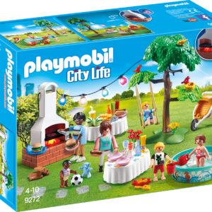 PETRECERE IN GRADINA-Playmobil-City Life-PM9272