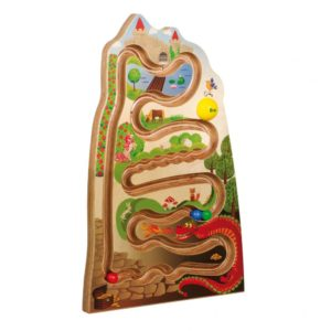 Panou Lumea Basmelor, labirint vertical lemn, fara baza circulara, Erzi Germania