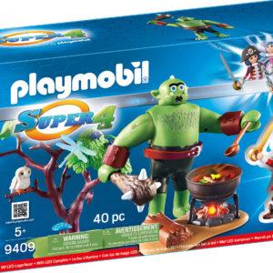 SUPER 4 - RUBY SI TROL-Playmobil-Super 4 III-PM9409