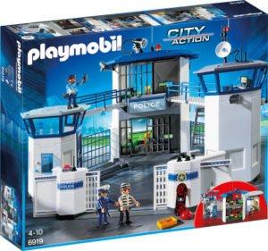 Sediu de Politie cu Inchisoare-Playmobil-Police-PM6919