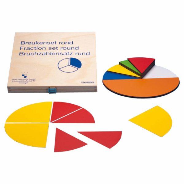 Set magnetic pentru învățarea fracțiilor Jegro Didactopia