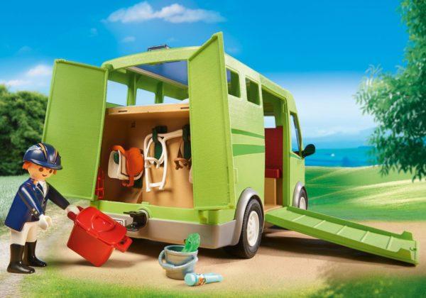 Transportor cai-Playmobil-Country-PM6928