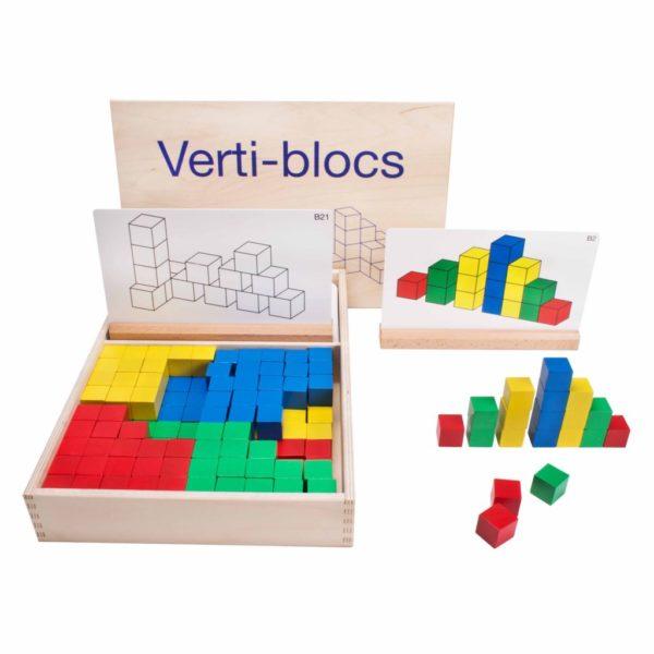 Verti-blocs- blocuri interconectabile set B- Educo Didactopia