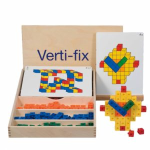 Verti-fix cuburi interconectabile Educo Didactopia