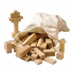 Blocuri din lemn, pentru construit- Educo Didactopia