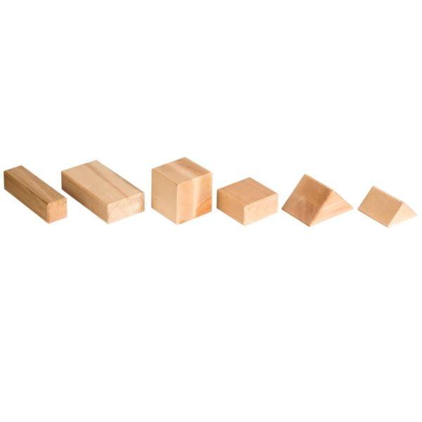 Blocuri mari din lemn, pentru construit2- Educo Didactopia