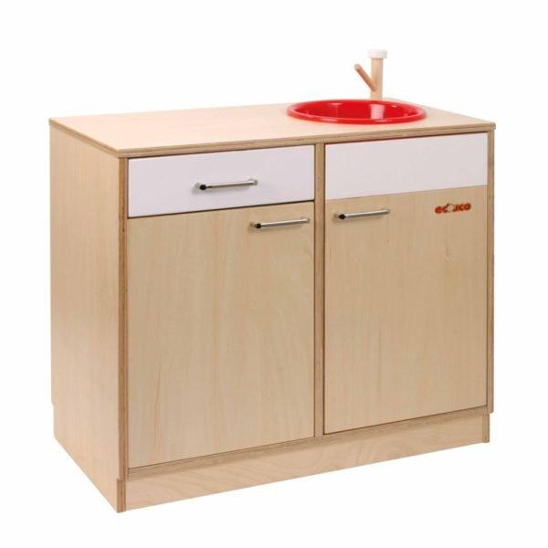 Bucătărie din lemn Chiuvetă-Educo Didactopia