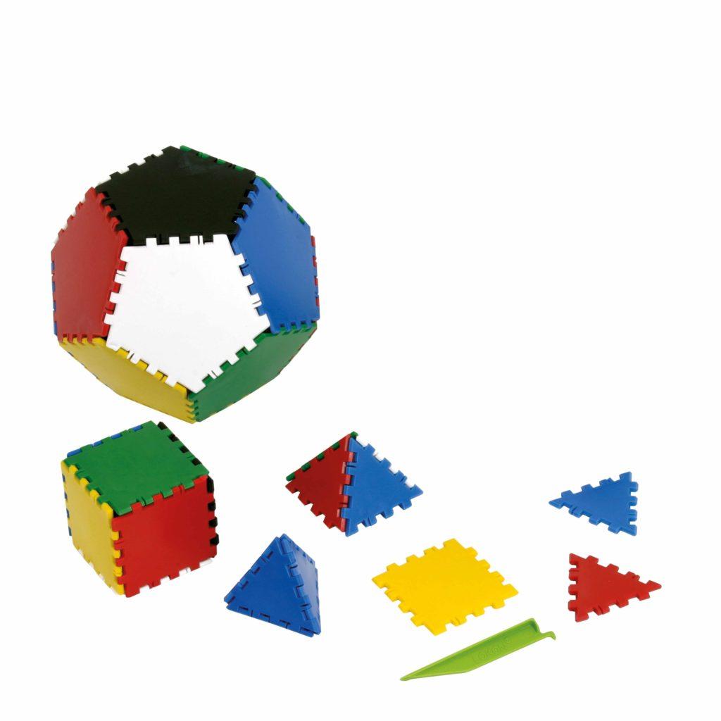 Lokon- crează structuri 2D si 3D (312 piese)-Jegro, Didactopia