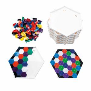 SCOPE- crează modele colorate, setul extra pentru școală-Jegro, Didactopia
