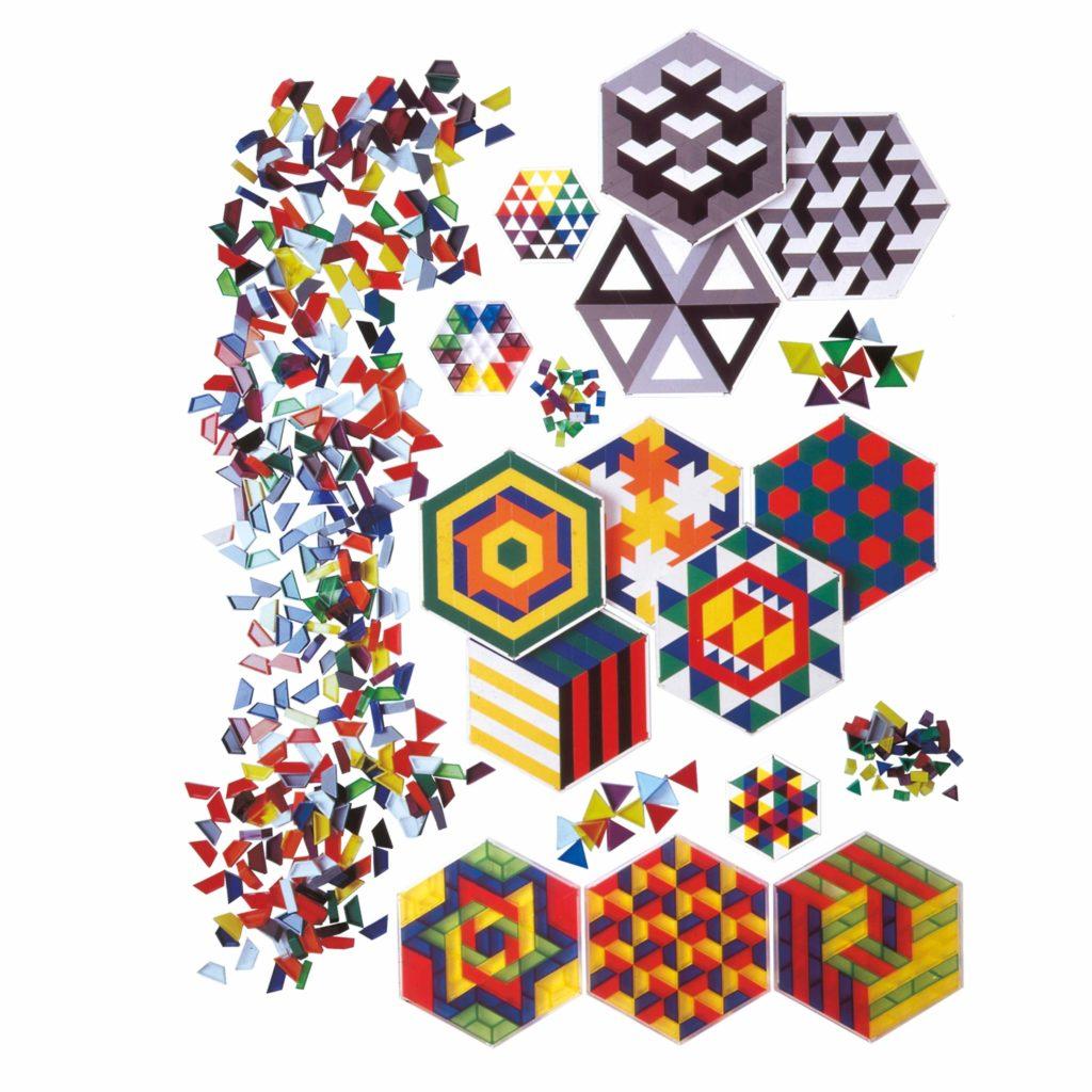 SCOPE- crează modele colorate, setul mix pentru școală-Jegro, Didactopia