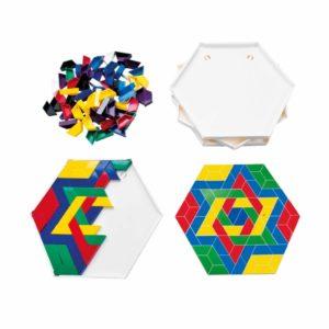 SCOPE- crează modele colorate, setul pentru școală-Jegro, Didactopia