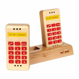 Set telefoane din lemn1-Educo Didactopia