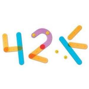 Sa construim cifrele! - Set educațional - Learning Resources UK 4