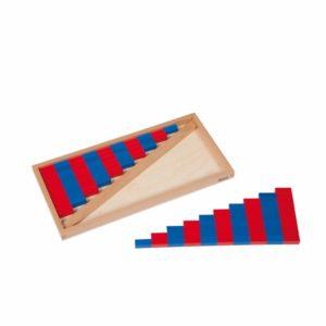 Bare numerice mici - original Montessori - Nienhuis
