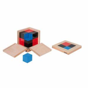Cubul binomial - Montessori original