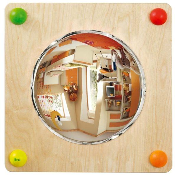 Panouri senzoriale bebe - Baby Path - oglinda convex concav - mobilier senzorial - Erzi Germania