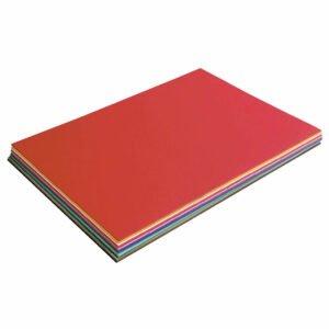 Set hârtie - Rainbow Harmony - 50 x 70 cm - 70 coli - 7 culori - Haba prin Didactopia 1