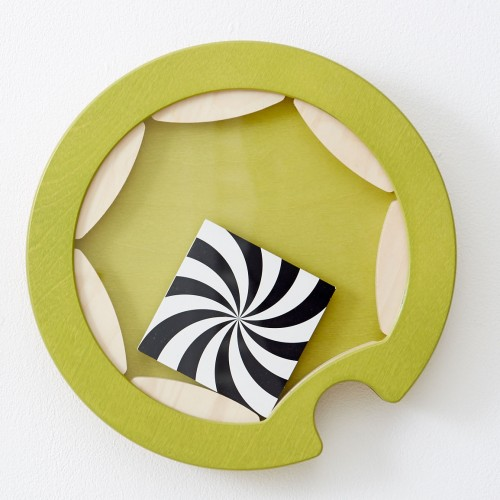 Spirala lemn - fixare perete